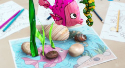 4D coloring Book - Augmented Reality